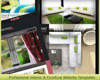 Professional Interior & Furniture Website Templates