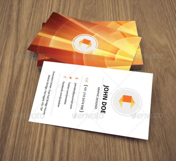 Creative Abstract Business Card - 45