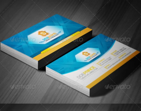 SeaPoint_Corporate Creative Business Cards
