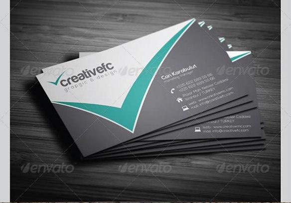 Corporate Business Cards 342