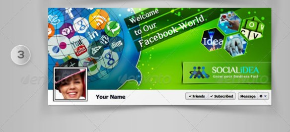Socialidea: Social Media FB Timeline Cover