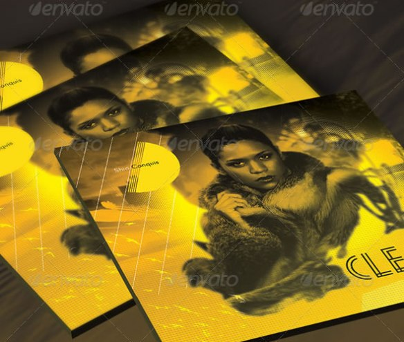 Clear: CD Cover Artwork Template