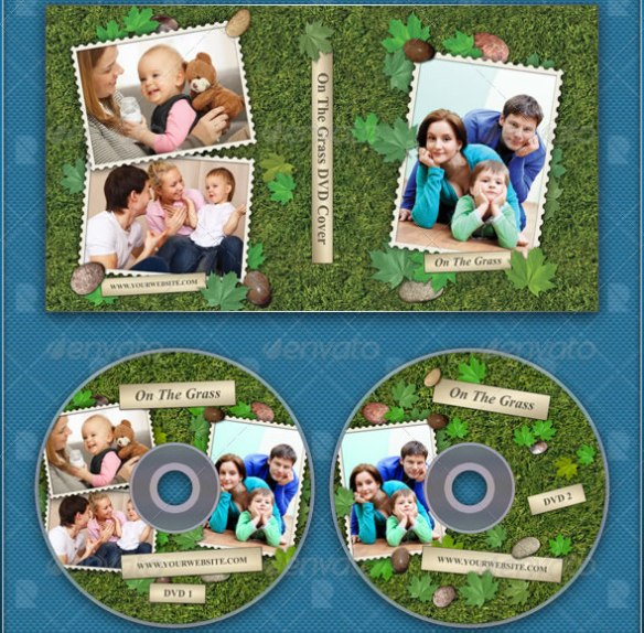 On The Grass DVD Cover