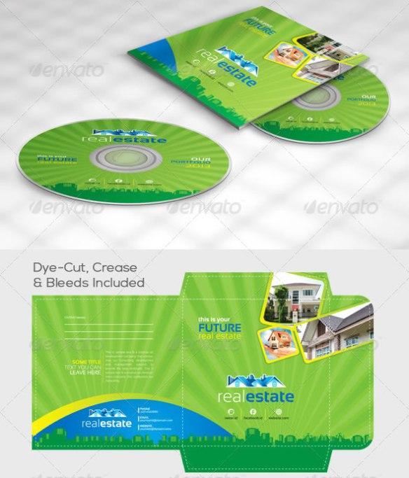 Real Estate CD Sleeve/Label & Sticker