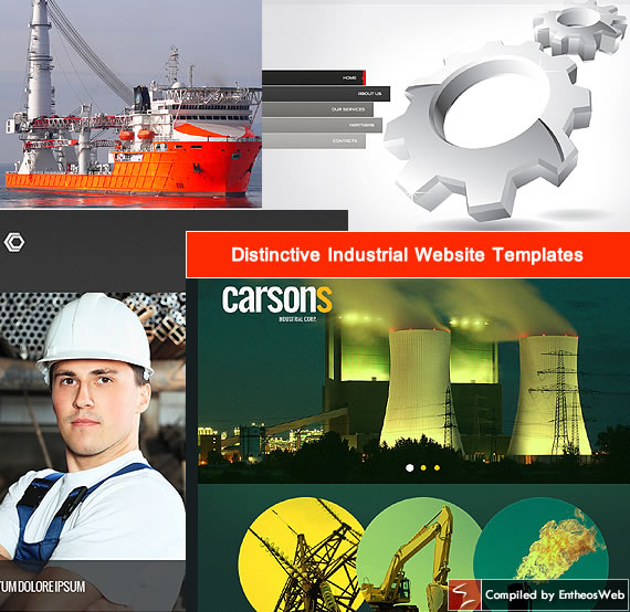 Distinctive Industrial Website Templates