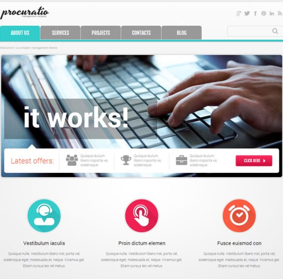 Template 46897 - Procuratore Business Responsive Joomla Template