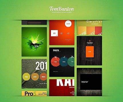 Template 41862 - Tom Bunton Moto CMS HTML Template