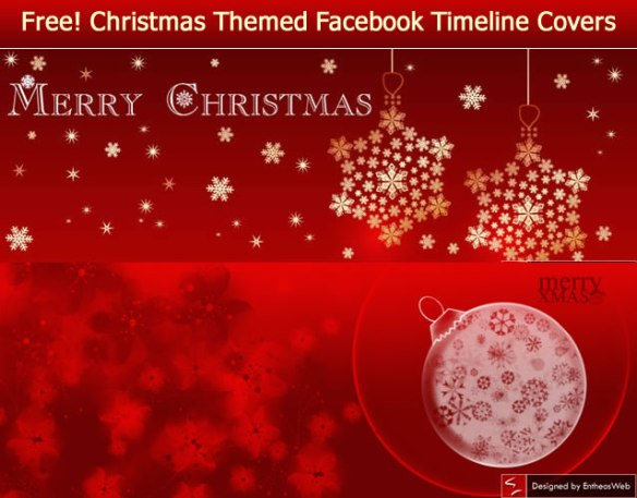 Free Christmas Facebook Timeline Covers
