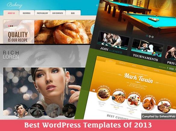 Best WordPress Templates Of 2013