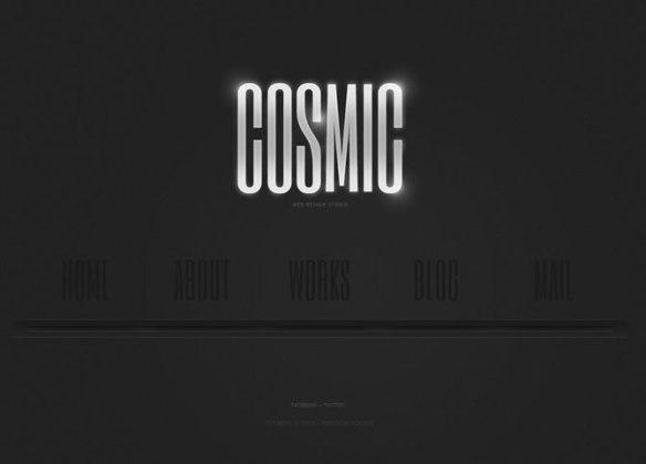 Template 46307 - Cosmic Design Moto CMS HTML Template