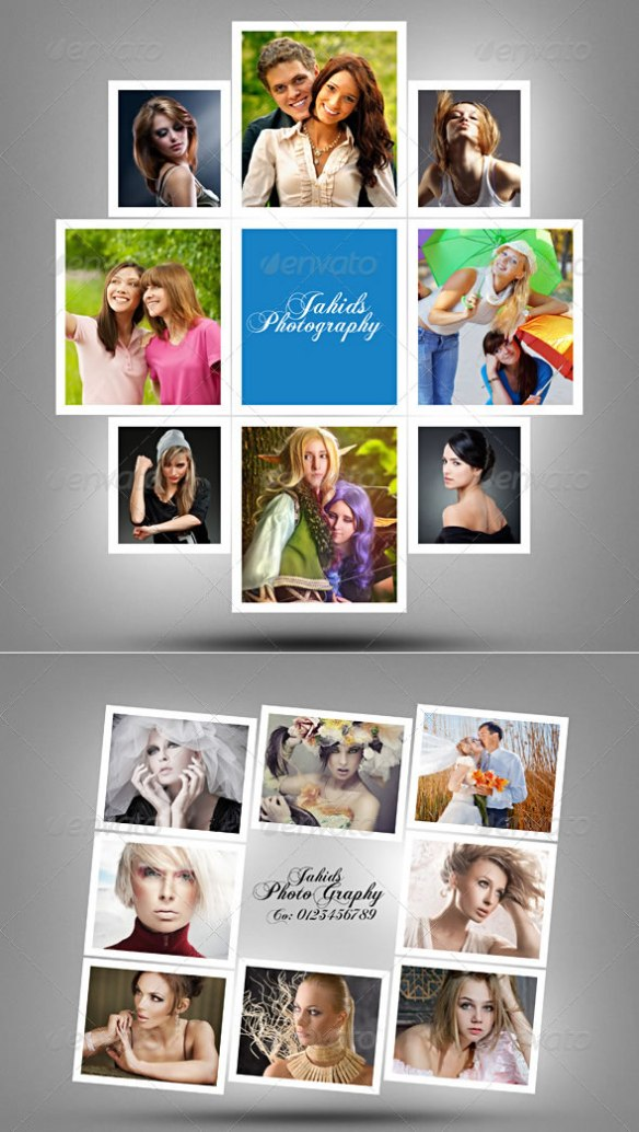 Photographers Photo Frame Template