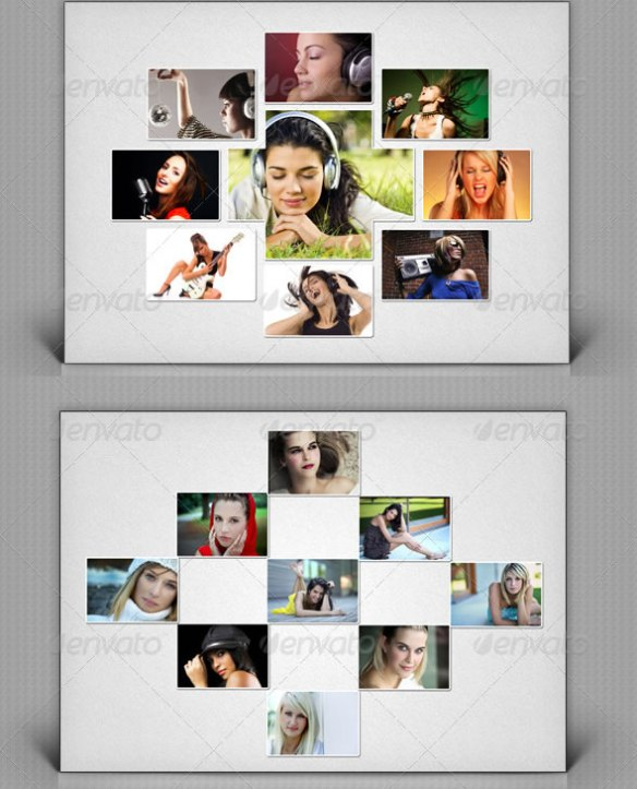 Collage Photo Template V1