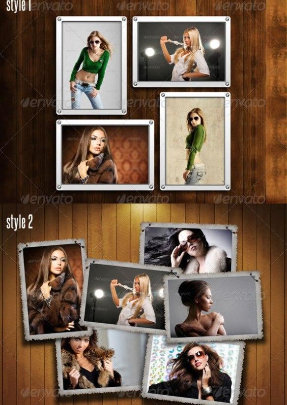 Photo Frames Pack 10