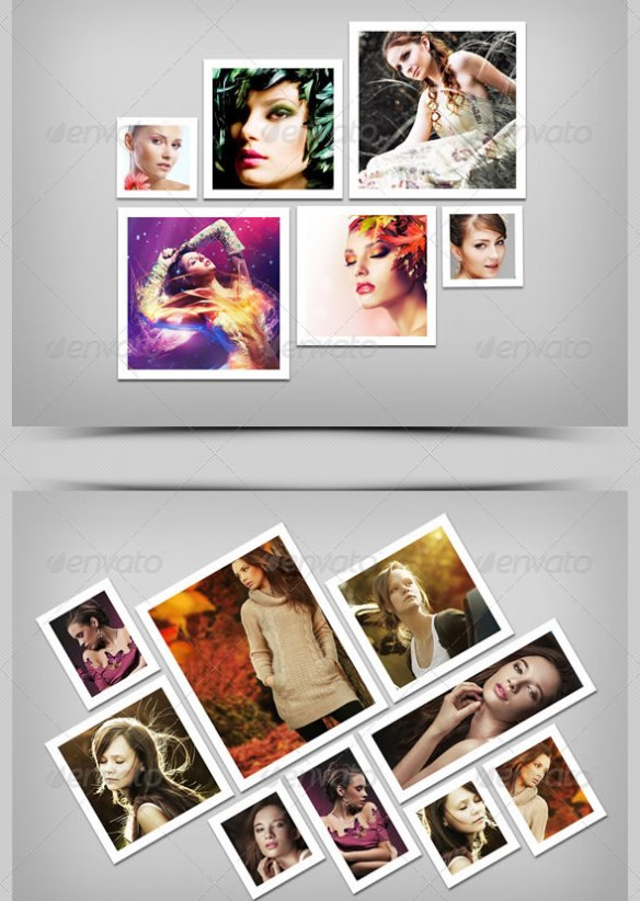 Photo Frame Templates V-4