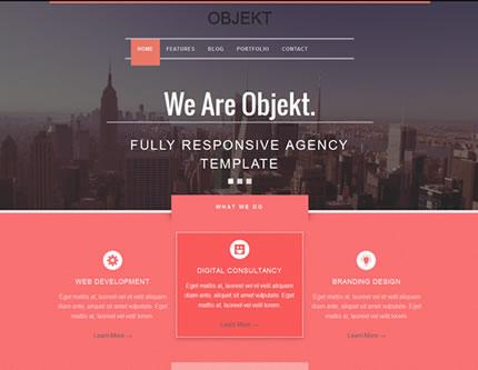 Objekt - Multipurpose Responsive Creative Theme