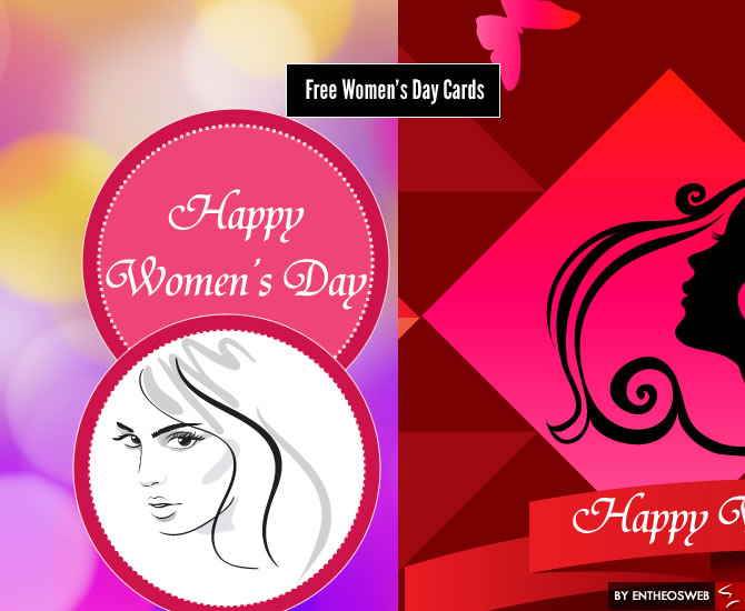 Free Women's Day Cards