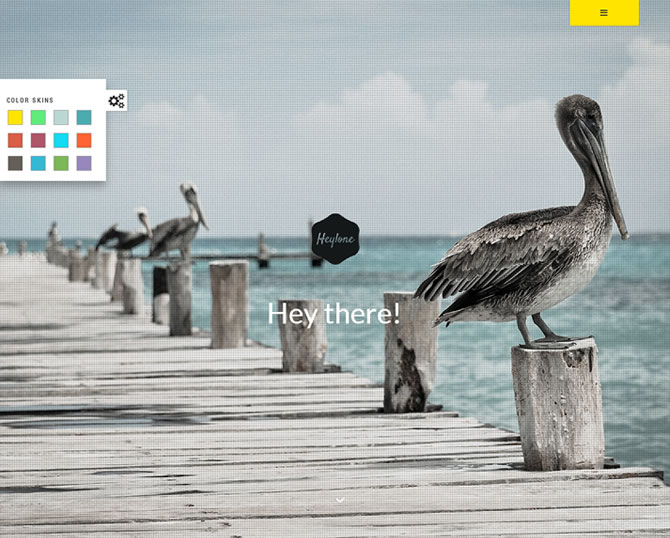 Heylone - Responsive One Page Parallax Template