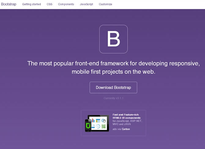 Bootstrap Website Tutorial