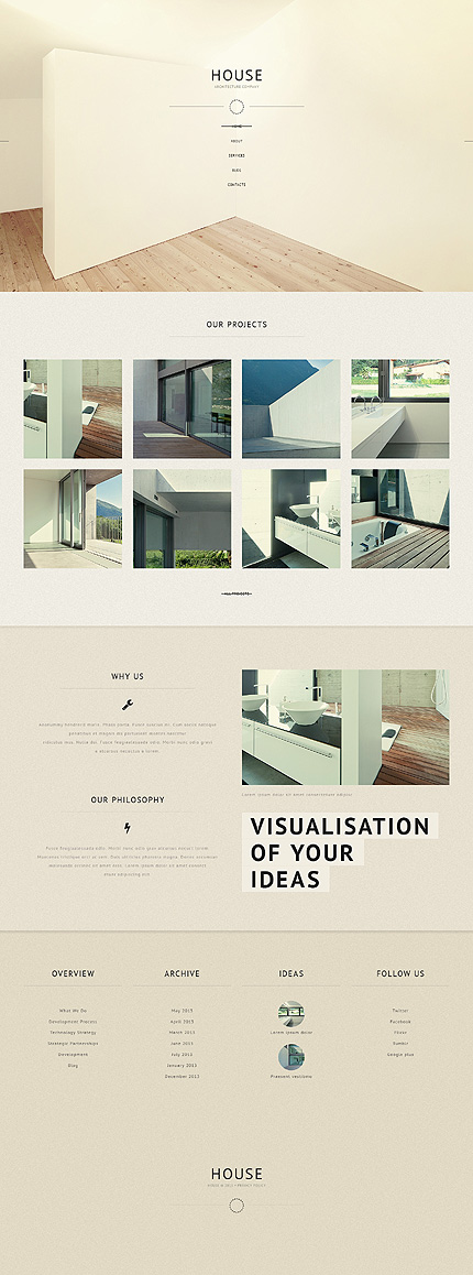 house-architecture wordpress