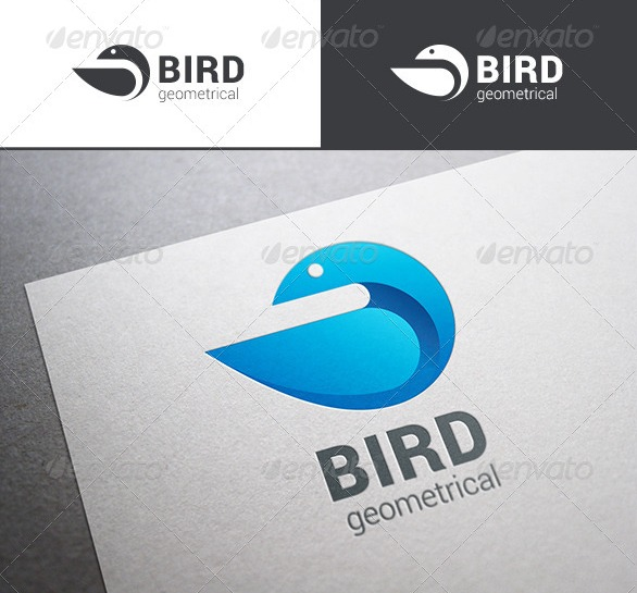 Bird-abstract-geometrical