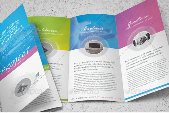 Clean-trifold-brochure-template