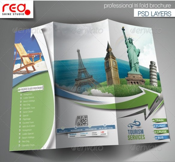 trifold-travel-brochure