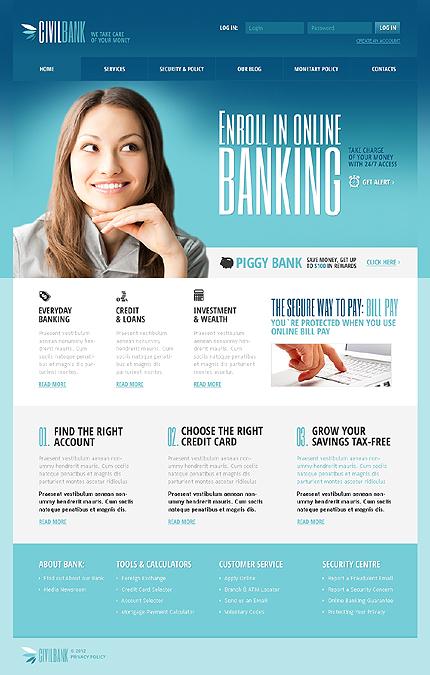 Civil Bank Responsive Joomla Template