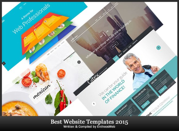 Best Website Templates of 2015