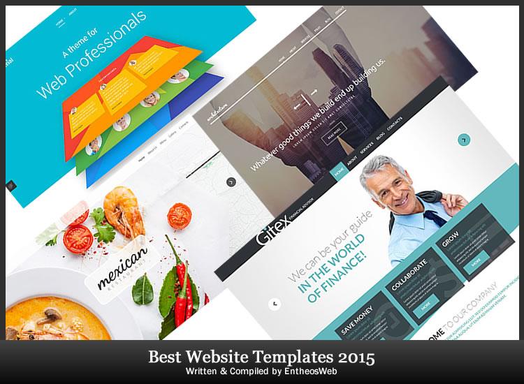 Best Website Templates of 2015