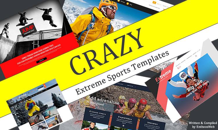 Crazy Extreme Sports Templates