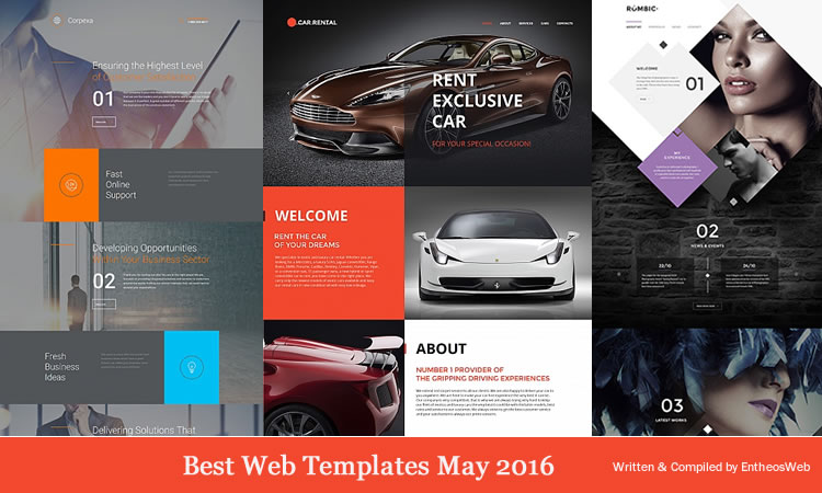 Best Web Templates May 2016