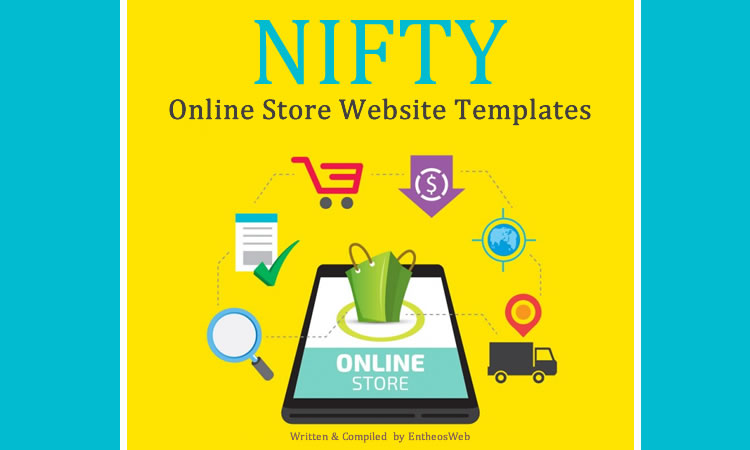 NIFTY Online Store Website Templates