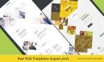 Best Web Templates August 2016