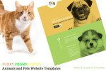 Animals and Pets Website Templates