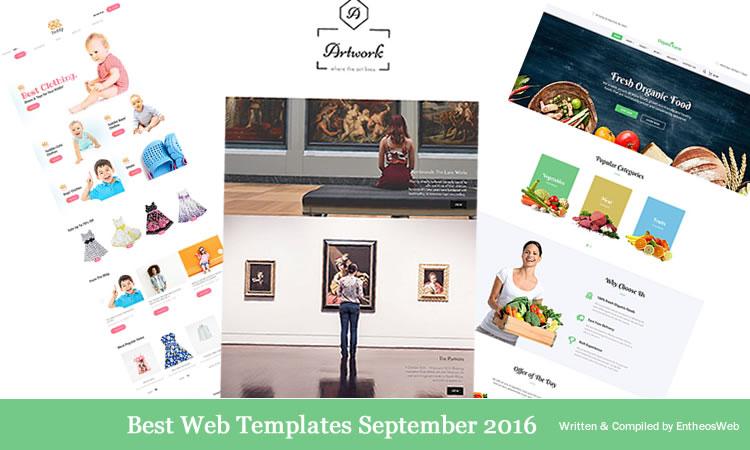 Best Website Templates September 2016