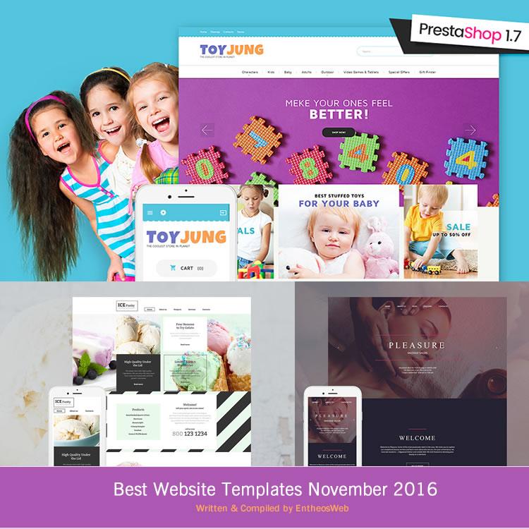 Best Web Templates November 2016