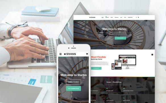 Starbis - Multipurpose Website Template For Business