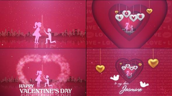 Valentine's Day Heart Animation