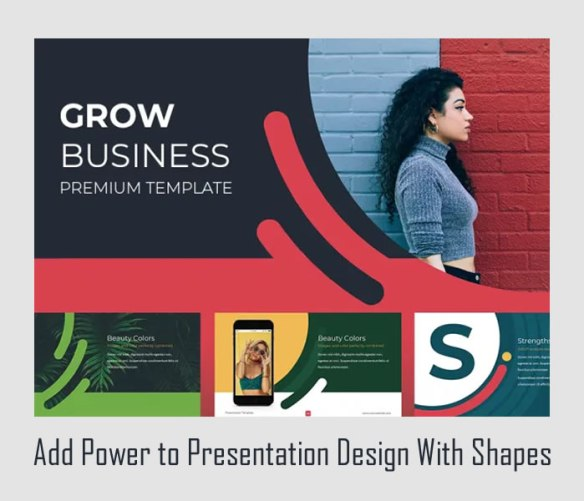 Add Power to Presentation Design With Shapes