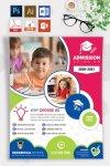 Kindergarten, Nursery and Preschool Admission Flyer Templates