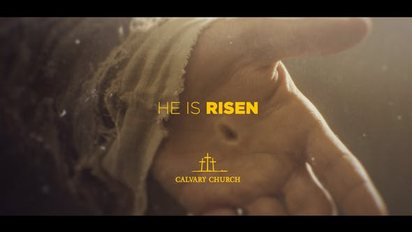 Easter In Photos Church Package - Video Template