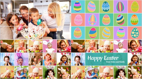 Easter Greetings - After Effects Video Template