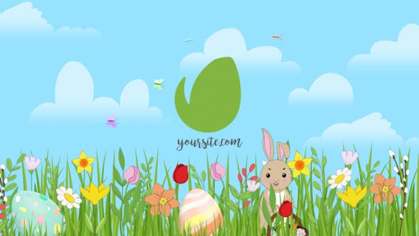 Spring Easter Reveal After Effects Video Template