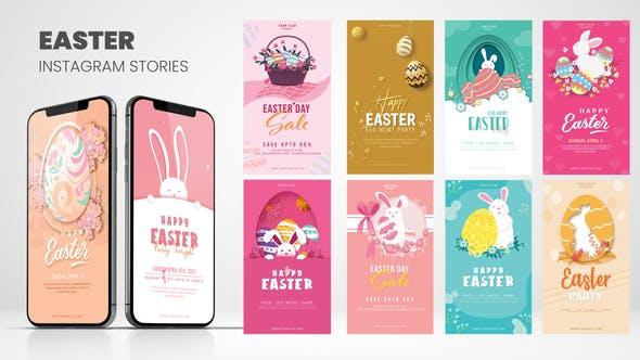 Easter Instagram Stories B24