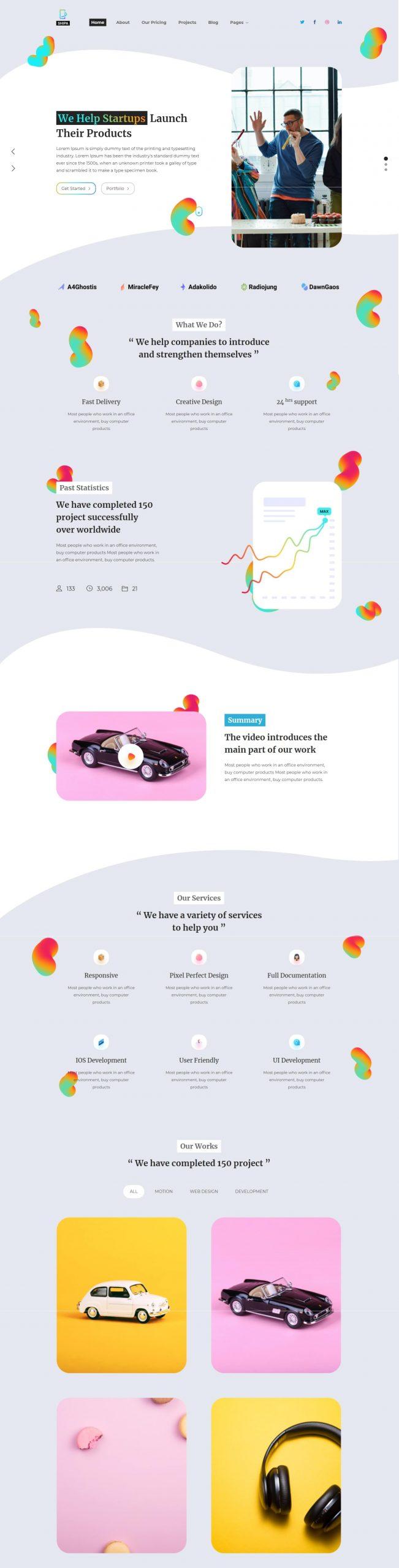 Shipa | Multipurpose Business HTML5 Template