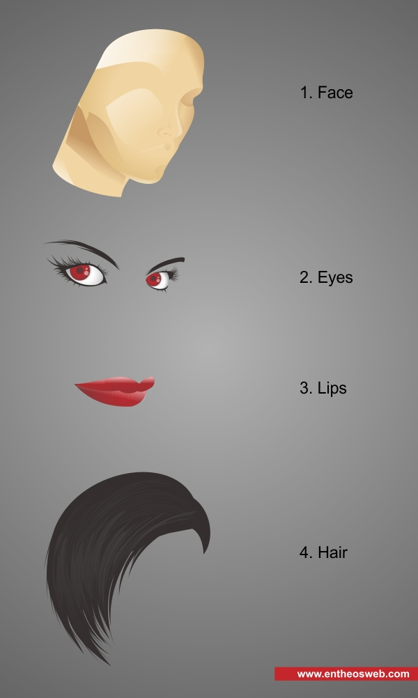 Drawing a Female Illustration with Corel Draw - How to Draw in Coreldraw
