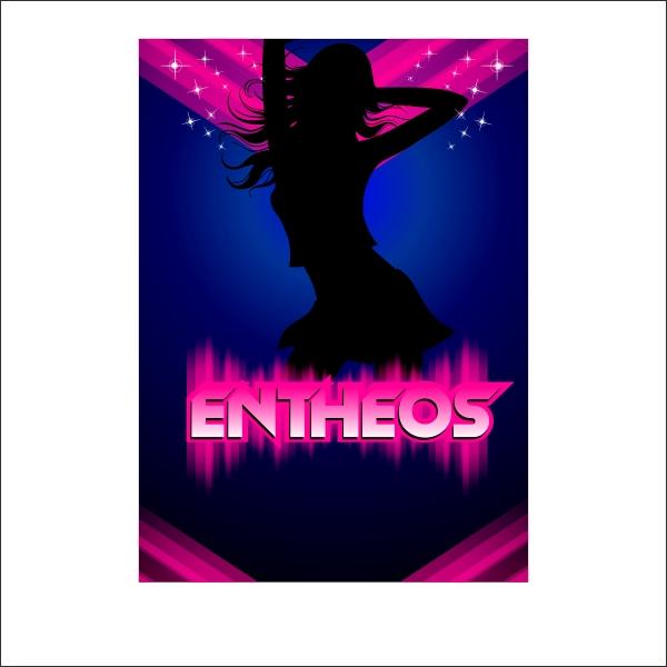 dancing girl poster design