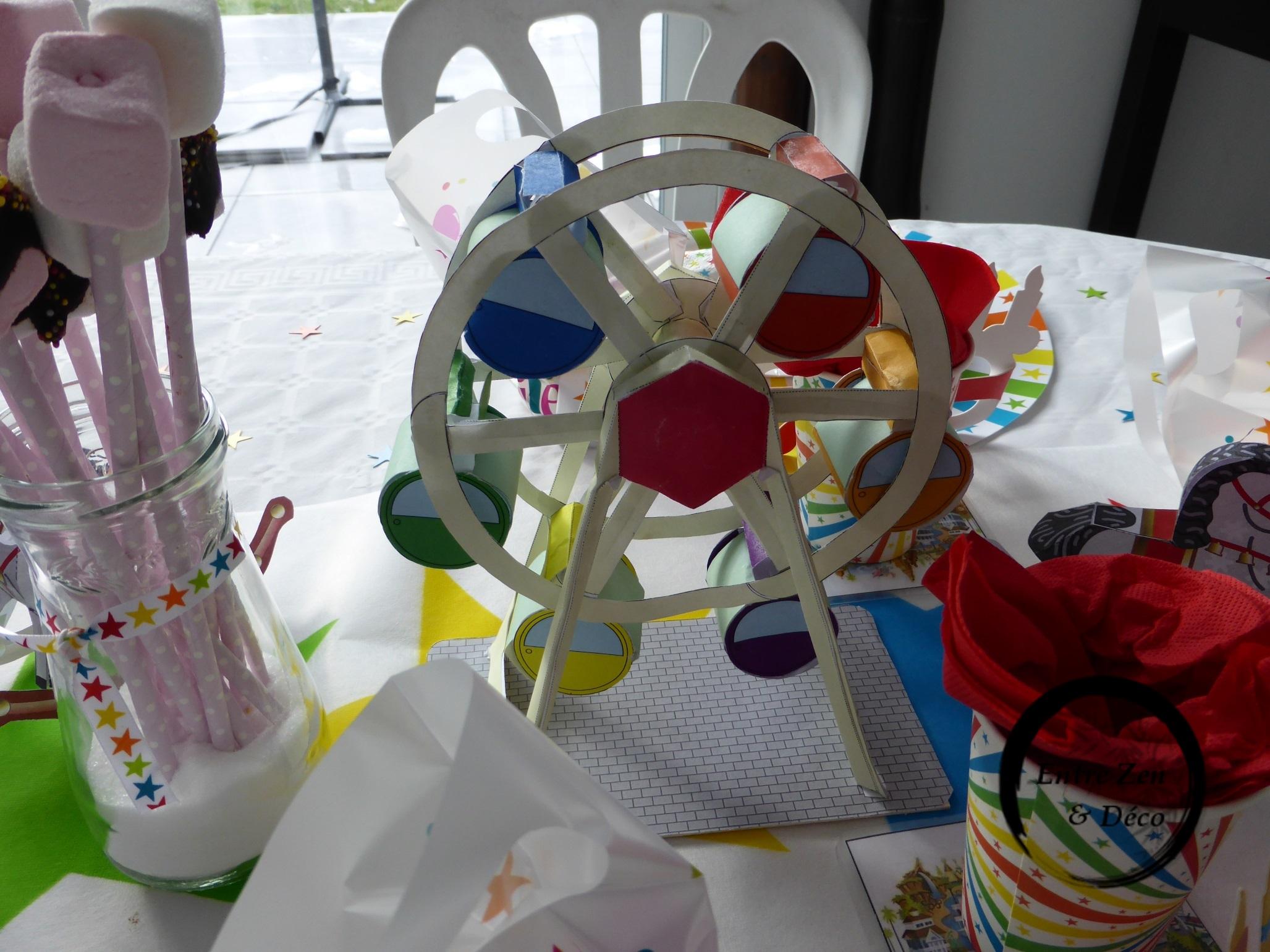 Table Thme Fte Foraine Entre Zen Et Dco