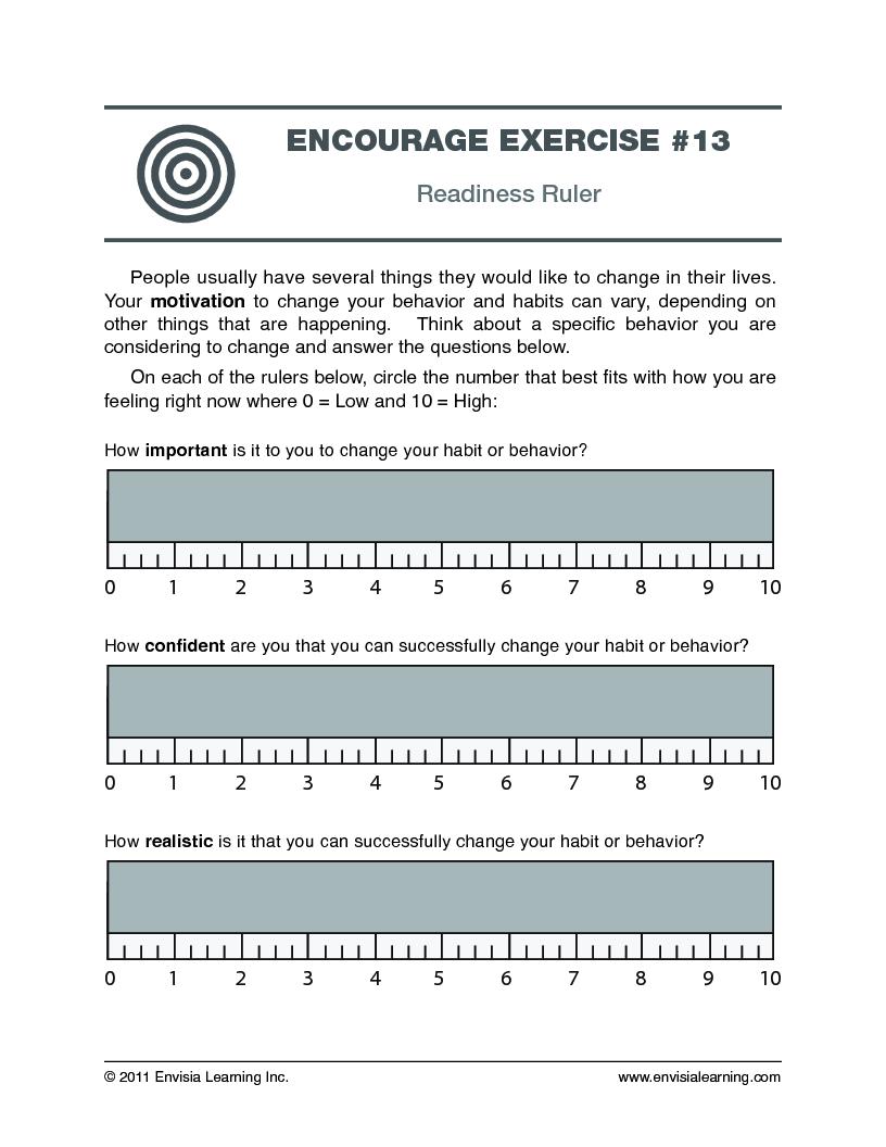 Free Coaching Exercise Readiness Ruler