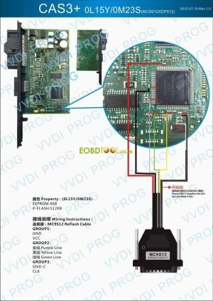 How VVDI PROG Programmer read BMW CAS2 CAS3 CAS3 CAS4 ECU
